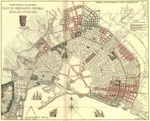 1943 Plan Alomar Palma